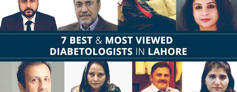 7 Best Diabetologists in Lahore
