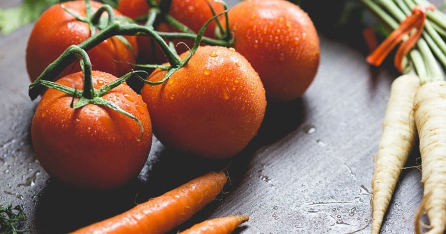 raw veges are not good choice when you are aging