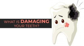damaging teeth