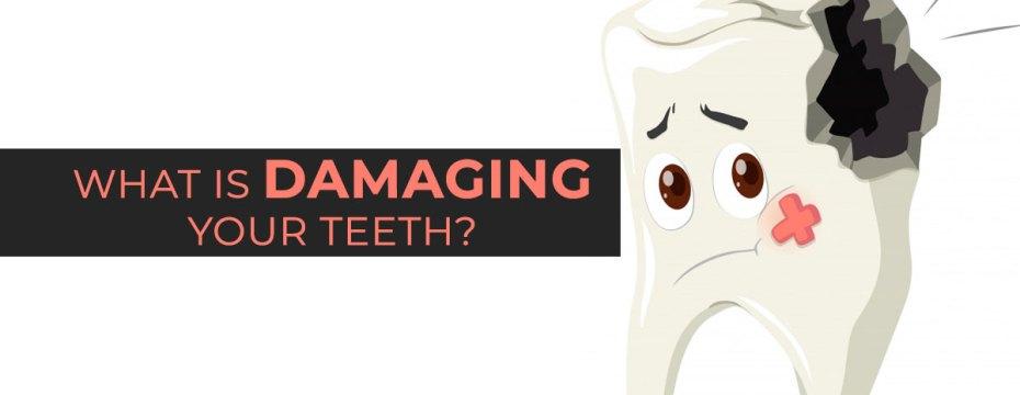 damaging teeth
