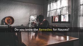 nausea home remedies