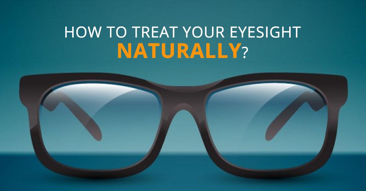 Treatment for eye sight