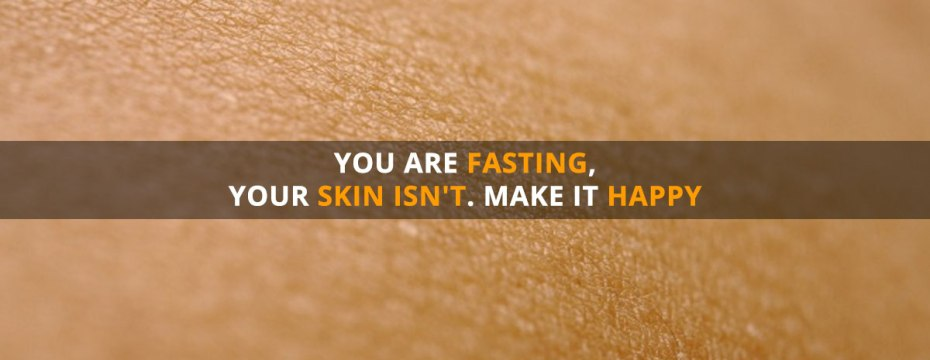 Fasting and skin care