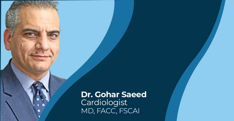Dr. Gohar Saeed cardiologist in Lahore