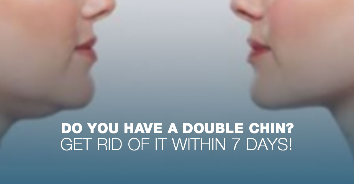 Get Rid Of A Double Chin In 7 Days