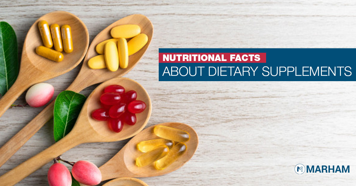 Nutritional Facts About Dietary Supplements