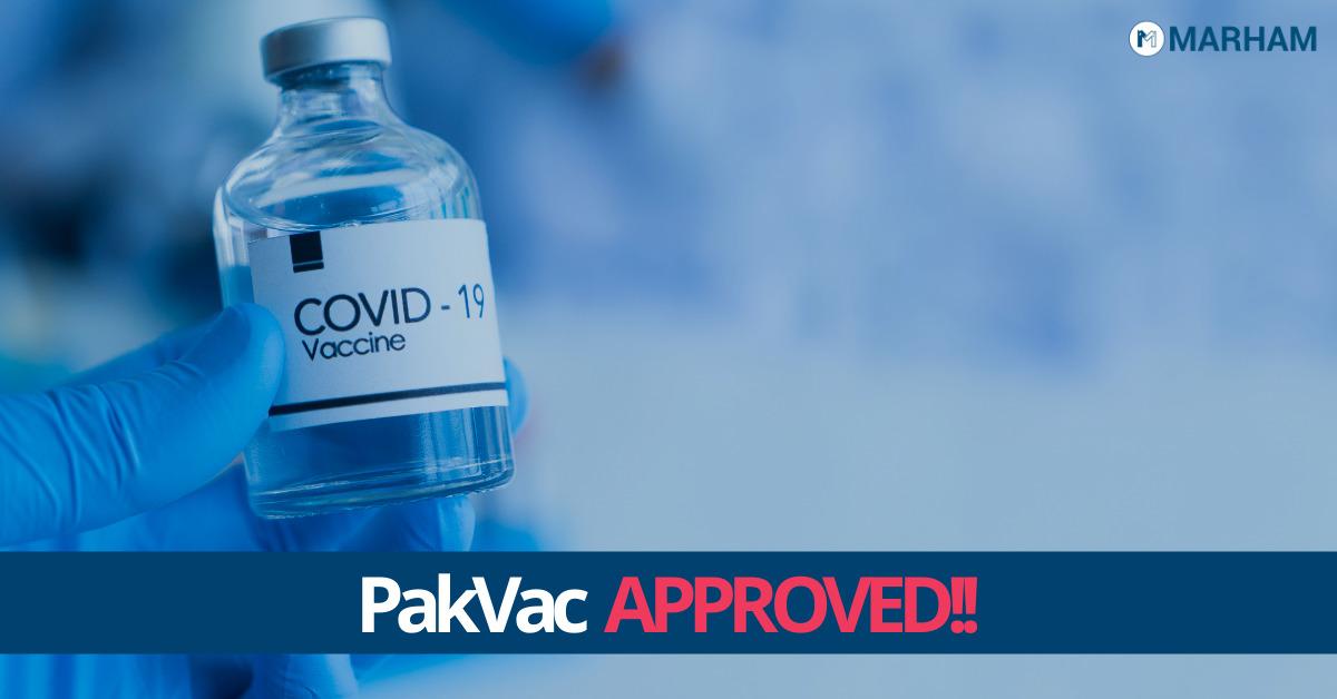 COVID19 Vaccine Pakistan PakVac