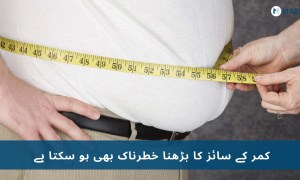 کمر کا سائز خواتین میں 35 اور مردوں میں 40 سے زيادہ ہونا خطرناک کیوں؟