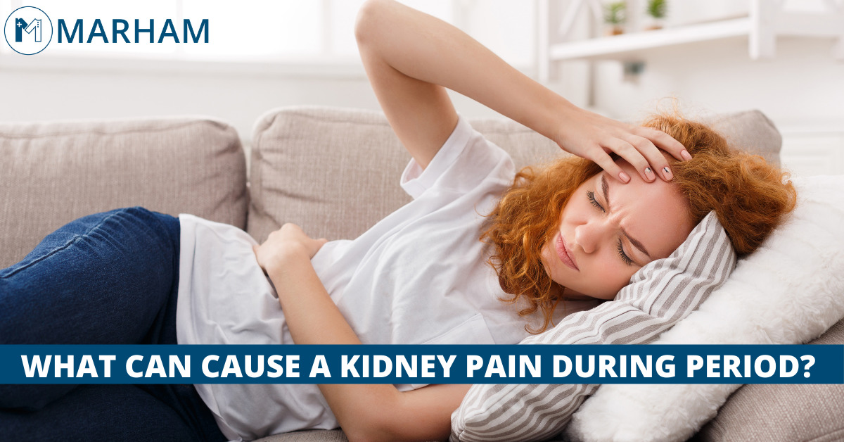 kidney pain during period