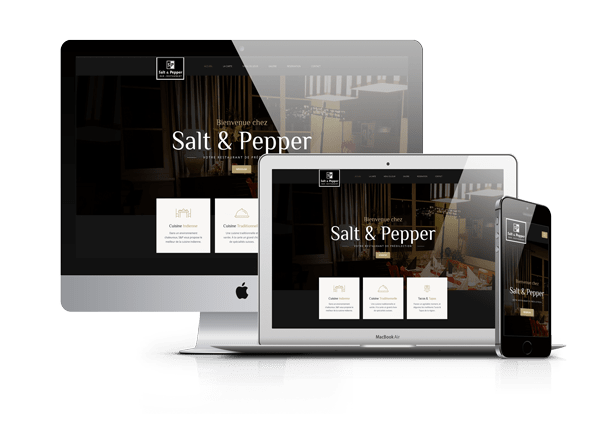 Site Web – Salt & Pepper