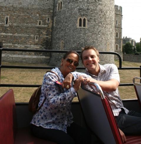 Jon and mum