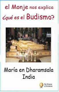 monje budista maria