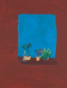 Acrylic on canvas. 35x27 cms 2012