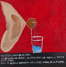 Acrylic on canvas. 20x19,8cms 2012