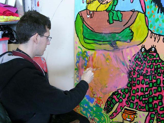Mural processus XVII