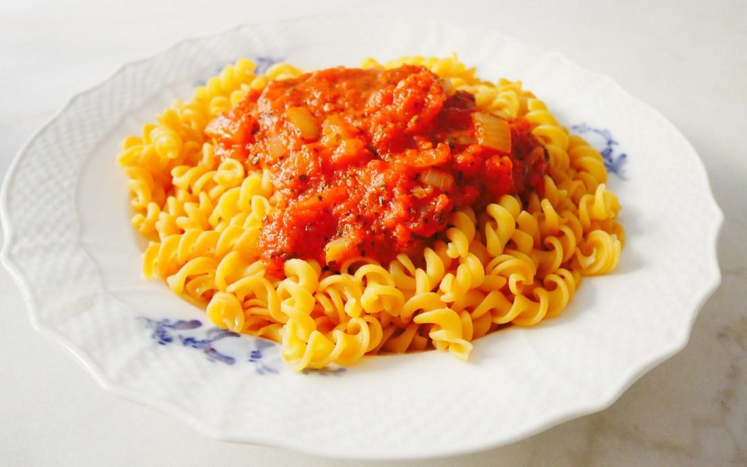 Världens godaste tomatsås – Recept