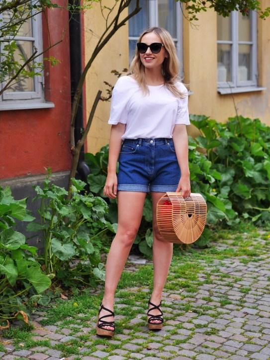 de perfekta jeansshortsen