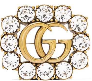 Gucci Brosch