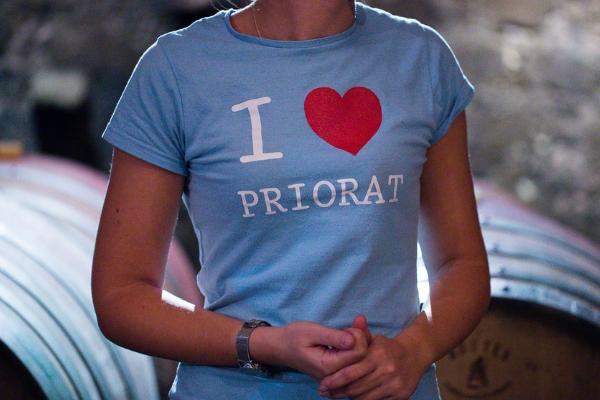 Maglietta I LOVE PRIORAT