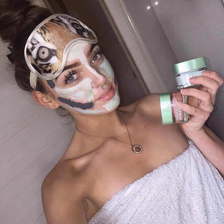 courtneyparry_ loreal multimask pure clay
