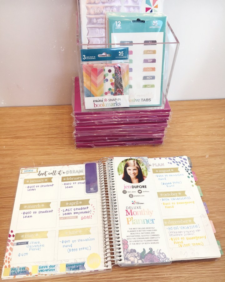 Erin Condren Design em Austin_Texas_Monthly Planner
