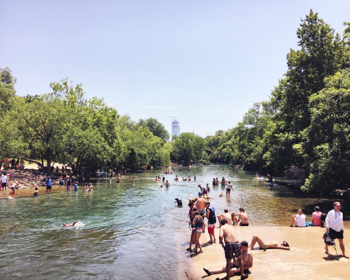 Barton Springs Pool_summer texas