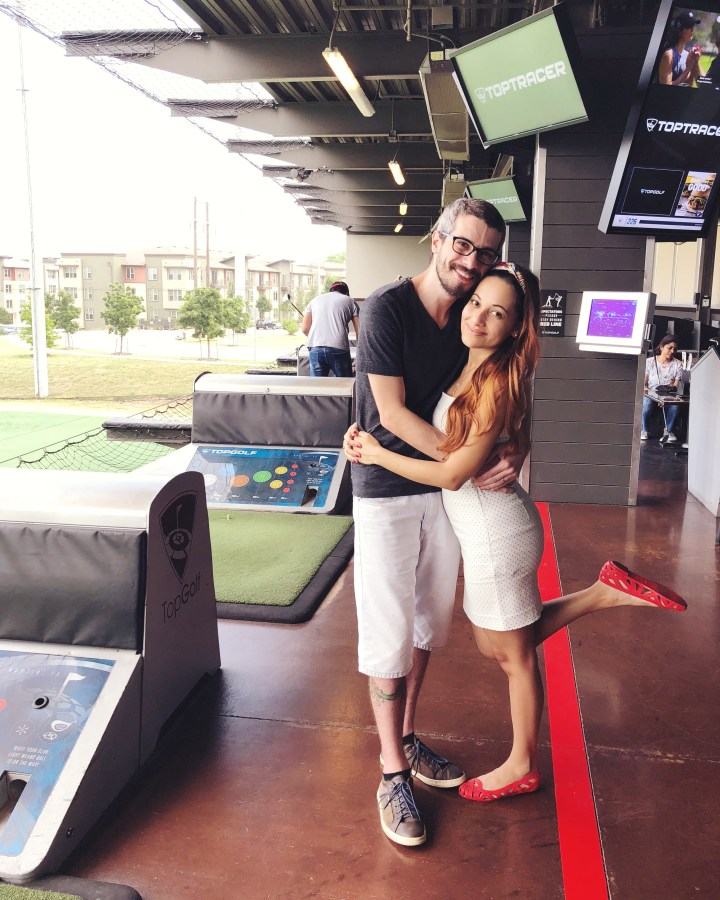 NIver no Top Golf Austin