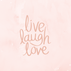 Wallpaper_Live laugh love