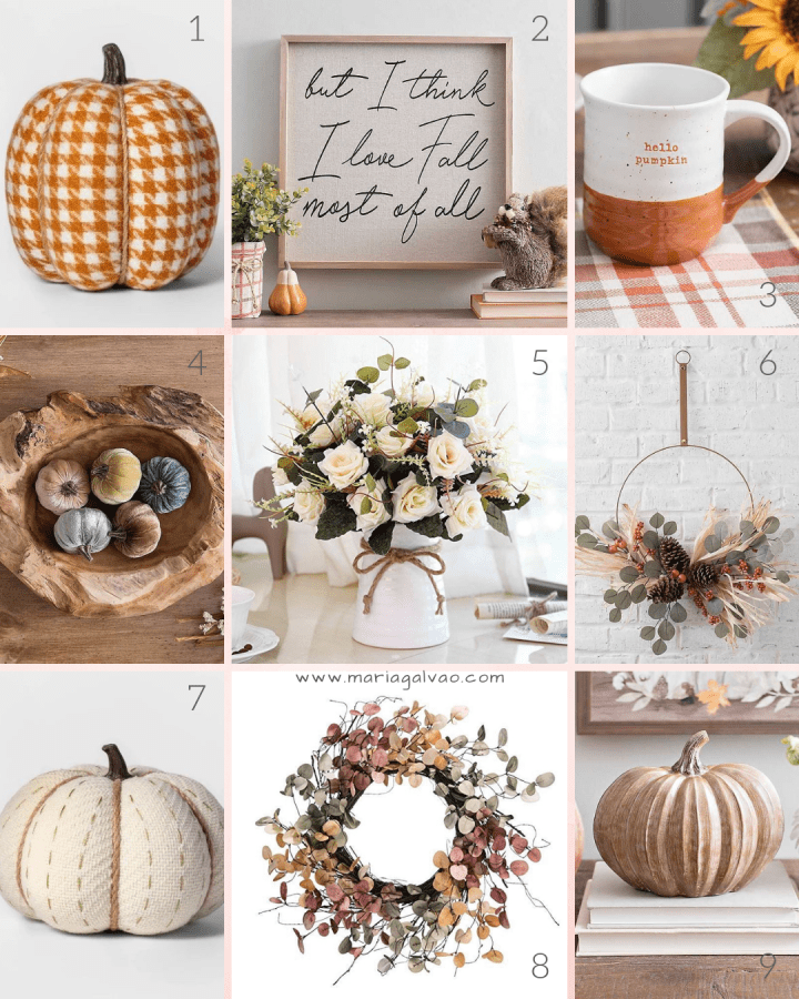home decor shopping list for fall_part 1
