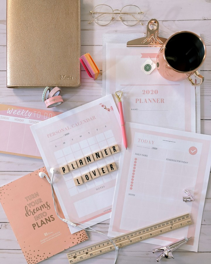 2020 planner for free download_print and build your own