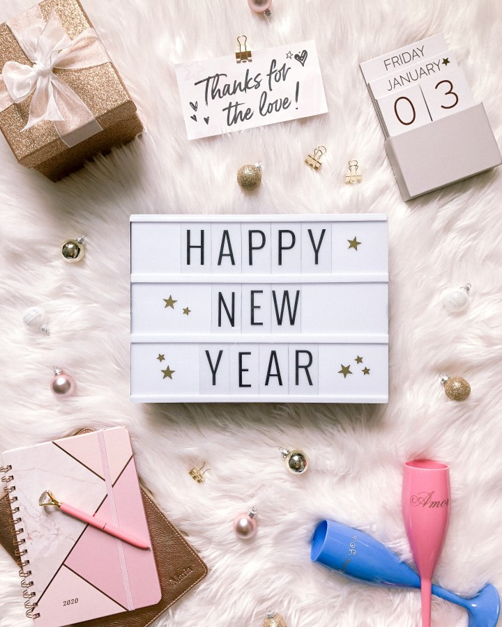 Happy new year and a thank you note for you all