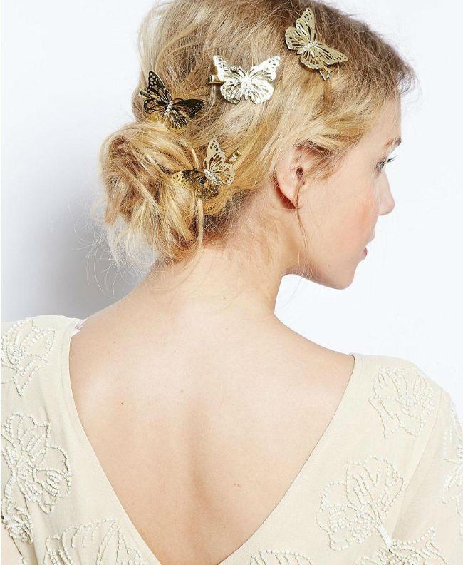 Coiffure De Marie Des Papillons Plein Les Cheveux