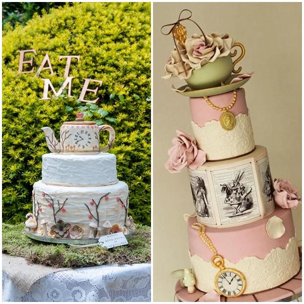 montage wedding cake mariage alice au pays des merveilles2