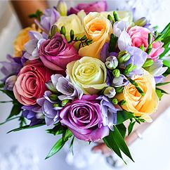 Les fleurs mariage