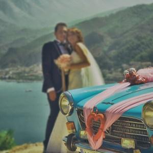 La voiture de mariage