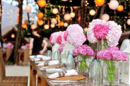 Decoration florale evenementielle
