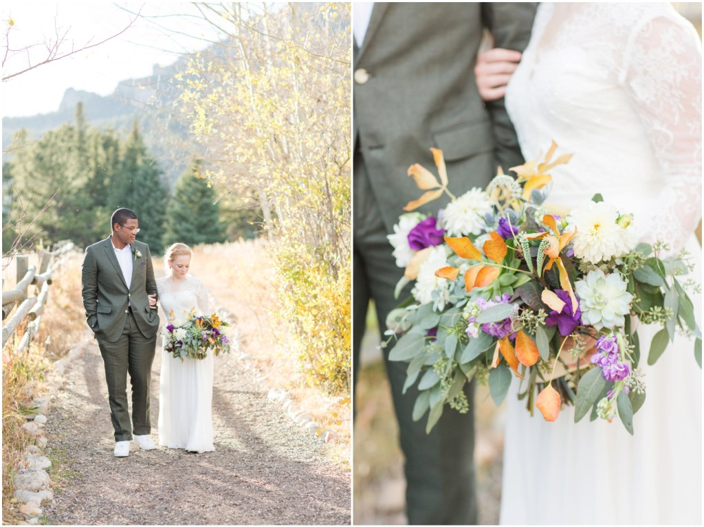 Allenspark Colorado Wedding