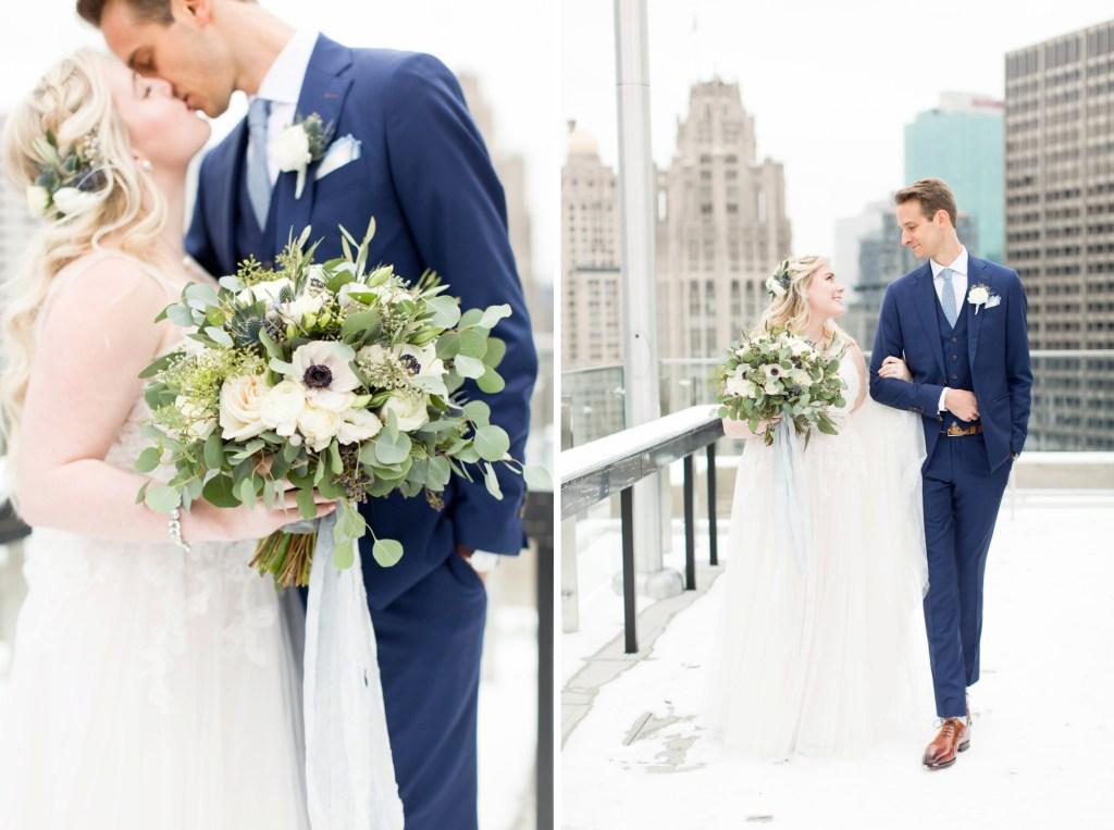 Garfield Park Conservatory Chicago Wedding