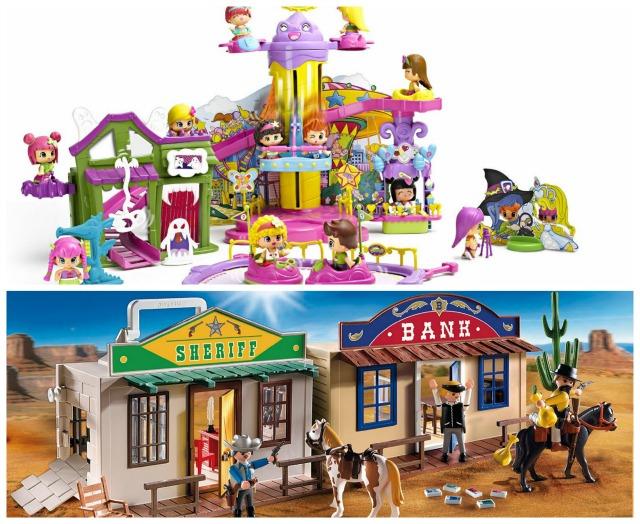 pin y pon y playmobil Collage