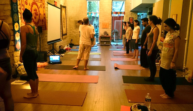 Curso para profesores de Yoga en Prana Alicante