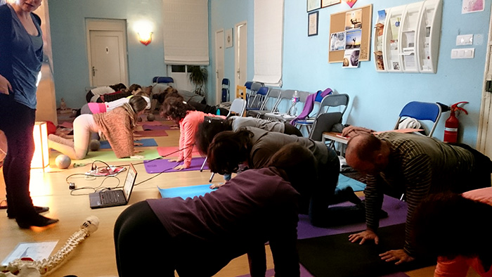Curso de profesores de yoga: tercer módulo