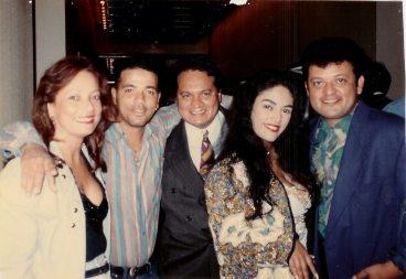 María Juliana, Ruben DJ, Eddie Rodriguez, la India y Paul Rodriguez en Premios Billboard.