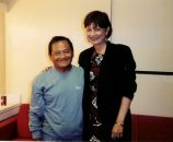 Una de las experiencias más enriquecedoras de un escritor de letras como lo es María Juliana es haber compartido con el maestro de los maestros Don Armando Manzanero.