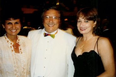 María Juliana, Arturo Sandoval y señora.