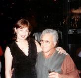 María Juliana con Antonio Cabán Vale, el Topo