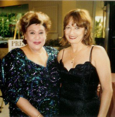 María Juliana y Olga Guillot