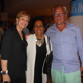 María Juliana, Susana Baca y el escritor alemán Ulrich Schreiber