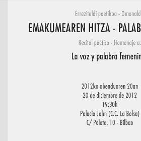 Invitación de MJM desde Bilbao
