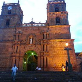 Catedral de la Ciudad de Barichara, Santander, Colombia