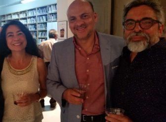 Claudia Rosenow, Froylan Puente y Jaime Cabrera